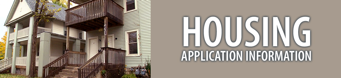Housing Application Information